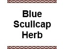 Blue Scullcap Herb